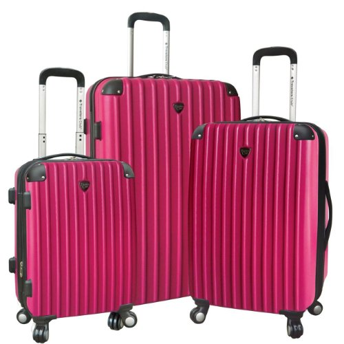 travelers-club-luggage-hardside-check-in-luggaget-fuchsia-one-size