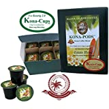 Exclusive Kona Blend single-serve cups for Keurig 2.0 K-cup Brewing Systems, Our Estate Blend Custom Medium Roast, Exclusively for Keurig 2.0 K-cup brewing systems, Box of 12 single-serve cups