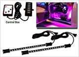 2pc. Expandable Pink LED Interior Starter Kit