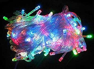 Beautiful Time 10m 33ft 100 LED Warm Christmas Fairy Party Decorative String Lights