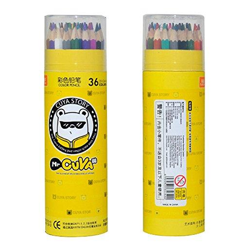 Zerlar Pencil Drawings 36 Colored Pencils For Secret Garden Adult Coloring Books