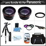 Lens Bundle For Panasonic HDC-TM700