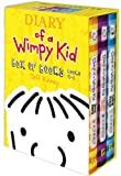 Jeff Kinney Diary of a Wimpy Kid Box of Books, Books 4-6: Dogs Days/The Ugly Truth/Cabin Fever