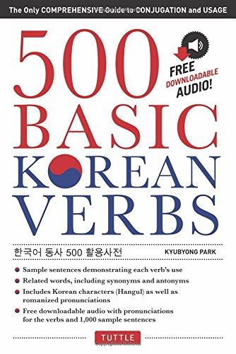 500 Basic Korean Verbs /Anglais