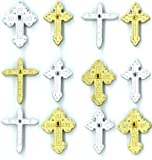 Jolee's Boutique Cabochons Dimensional Stickers, Crosses