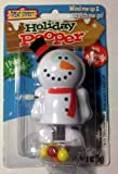 Holiday Pooper with Candy Treats Snowman