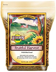 Audubon Park Nature's Elegance 2294 Fruitful Harvest Supreme Quality Wild Bird Food, 6-Pound Bag