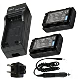 Battery (2-Pack) + Charger for
