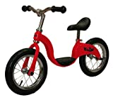 補助輪必要ありません。キッズ用バランスバイク KaZAM レッド