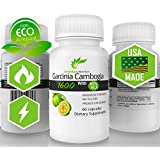 #1 Supremely Potent 100% ✮Pure Garcinia Cambogia Extract with Dual Action© Fat Burning Formula- Dr. Recommended -Research Verified+Enhanced 60% HCA 1600 Premium by Betterbody Nutrition Cleanse + Detox (Potent 1600mg, Clinically Proven Appetite Suppressant, Fat Burner, 60% HCA for Extreme Weight-loss) One Month Supply Veggie weight loss Tablets Capsules