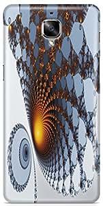 AKMOBI Designer Hard Back Case Cover For OnePlus 3