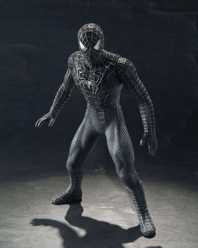 Picture of Bandai Soul of Vinyl Black Spiderman Spider-man figure Bandai (B000OCZ0MM) (Spider-Man Action Figures)