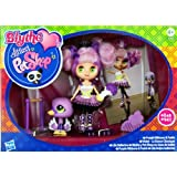 Blythe Loves Littlest Pet Shop - Colourfully Cute Collection - Purple Ribbons & Twirls - #B43 Blythe & #2411 Swan...