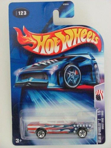 hot wheels mustang 1965 star spangled 2 1/5 123