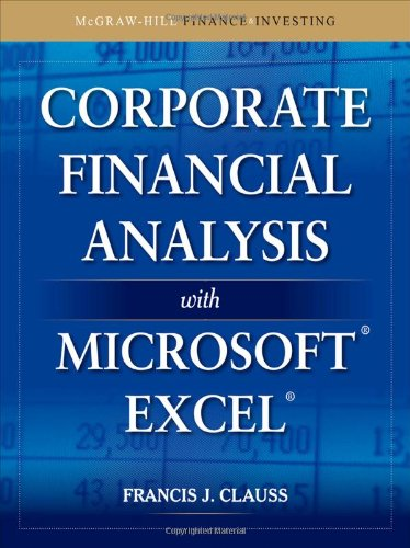 Corporate Financial Analysis with Microsoft Excel...
