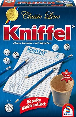 schmidt-spiele-49203-classic-line-kniffel-mit-gr-wuerfeln-block