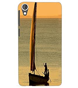 HTC DESIRE 820 BOAT Back Cover by PRINTSWAG