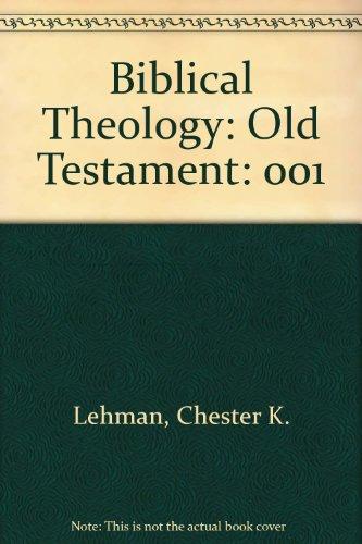 Biblical Theology: Old Testament