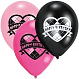 Monster High Birthday Party Latex Balloons x 6