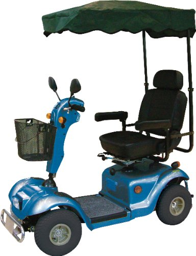 """Sun Shade For Scooter *** Product Description: Easy To Install. For Use With All Drive Electric Scooters And Sunfire Plus Power Wheelchair Base. Size: 38. 5"""" X 24"""" X 64. 5""""Warranty: 90 Days ***"""