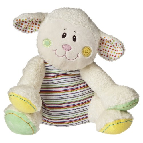 "Mary Meyer Cheery Cheeks Plush Lollipop Lamb 14"" front-1037937"