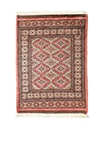 QURAMA Alfombra Kashmir Rojo/Multicolor 122 x 82 cm