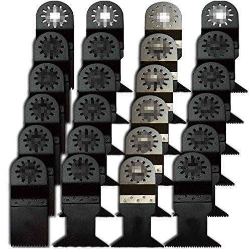 24Pcs Pro Grade Universal Blade For Fein Dremel,Bosch Oscillating Multi Tool front-827553