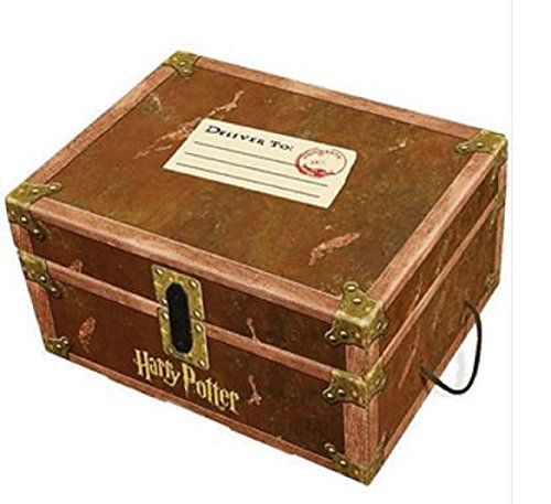 Harry Potter Book Chest : Galleon harry potter books set in collectible trunk