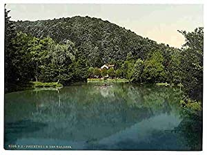 Photo The Waldsee Freiburg Baden A4 10x8 Poster Print