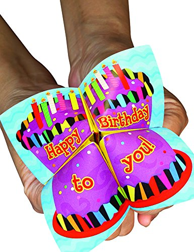 Creative Teaching Press Happy Birthday Cootie Catchers, Blue (1544) - 1