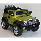 New Jeep Jj 4x4 Style 12v Battery, 2 Motors, Mp3, Remote Control ,Power Ride On Toy.