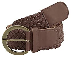 Jainsons Women's Belt (DTP_BELT_1033_1--36, Brown, 36)