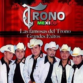 Amazon.com: Las Famosas Del Trono - Grandes Exitos: El Trono de Mexico