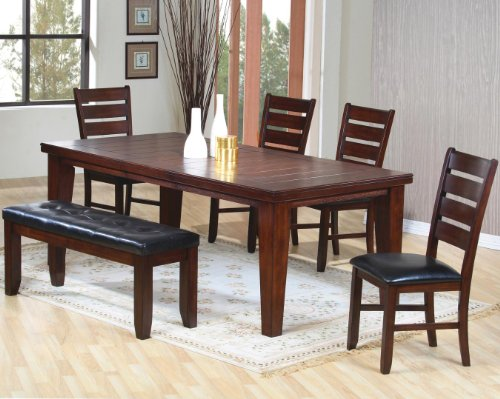 Oak Table And 6 Chairs 2536