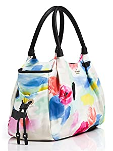 kate spade york Classic Nylon Stevie Baby Shoulder Bag (Watercolor) from Kate Spade