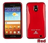 Galaxy S2 HD LTE TPUケース (GALAXY SII WiMAX ISW11SC 対応) Mercury Case【Red(赤)】