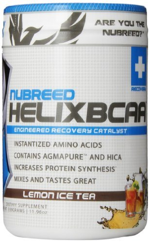 Nubreed Nutrition Helix BCAA Diet Supplement, Lemon Ice Tea, 339 Gram