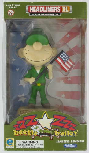 Headliners XL Beetle Bailey Limited Edition