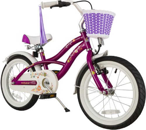 Bikestar 16 Inch (40.6cm) Kids Childrens Bike Bicycle - Cruiser - Lilac / Purple
