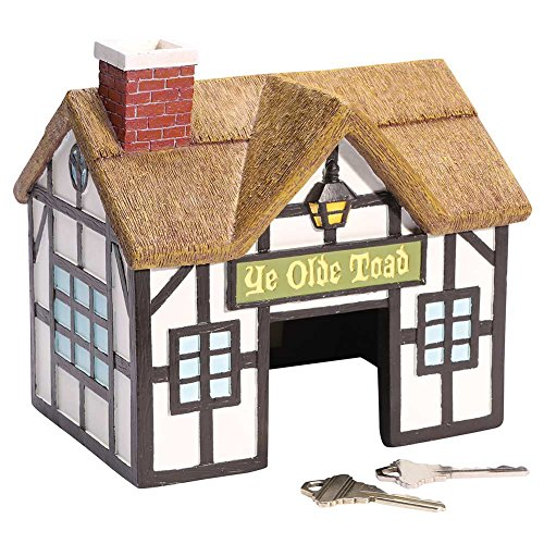 What On Earth Exclusive Ye Olde Toad House Outdoor Hide-A-Key
