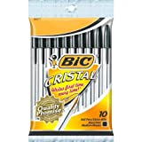 Bic Corporation MSP10BK Bic Cristal Ball Pen