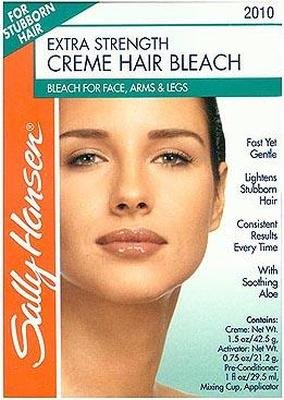 Sally Hansen Extra Strength Creme Hair Bleach For Face & Body (6 Pack)