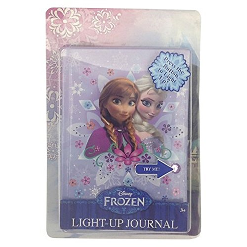 Disney Frozen Elsa And Anna Light Up Journal - 1