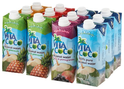 Vita Coco Coconut Water Variety Pack 17oz