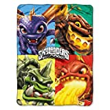 "Activision ""Skylanders, 3-Series"" Silk Touch Throw, 46 by 60-Inch"