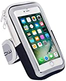 LENPOW Multifunctional Outdoor Sports Armband Sweatproof Running Armbag Casual Arm Package Bag Gym Fitness Cell Phone Bag Key Holder for iPhone X 8 7Plus 6sPlus Samsung Galaxy Note 5 4 S8 S7 Edge Plus