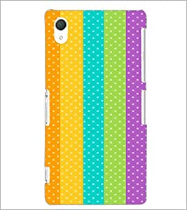 PrintDhaba Pattern D-2163 Back Case Cover for SONY XPERIA Z2 (Multi-Coloured)