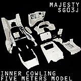 ヤマハ MAJESTY マジェスティ 250 SG03J 5連 メーター ホワイト 塗装済 内装 インナーカウル 15点セット T-2