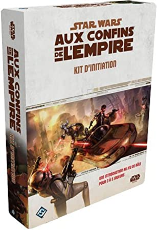 Asmodee - UBISWR01 - Star Wars aux Confins de l'Empire - Kit d'Initiation