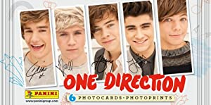 Aquastone One Direction Photo Cards from Panini